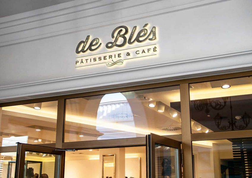 Debles Logo shop Facade